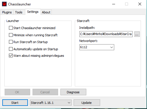 chaoslaunhcer_settings